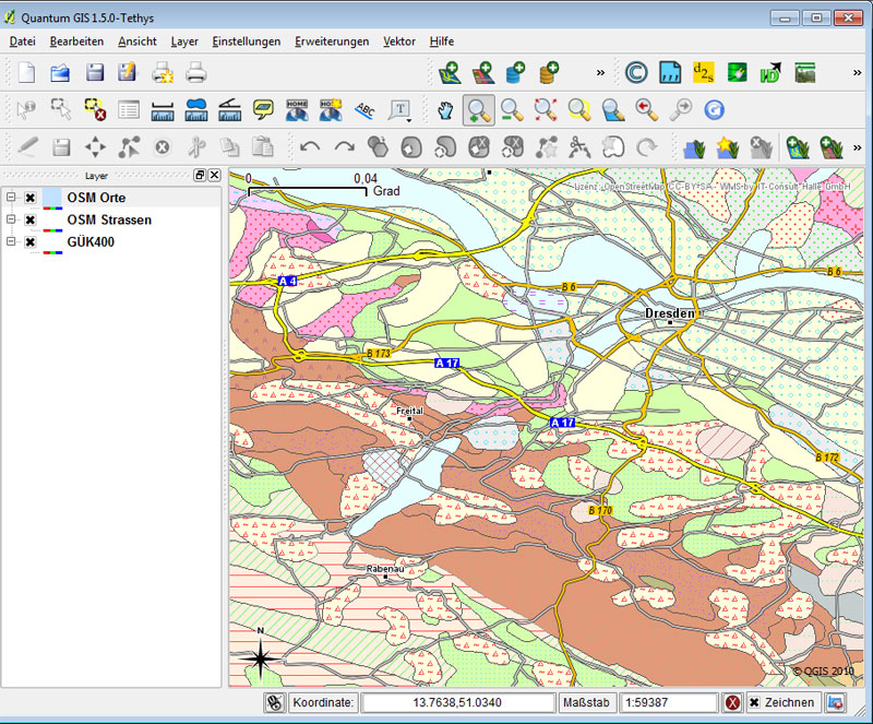 Geologische Karte Thüringen.Liste Einiger Wms Dienste Mit Geologischen Daten Kreidefossilien De